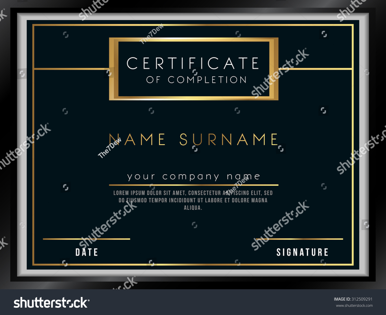 Vector certificate template luxury design stock vector royalty free vector certificate template with luxury design maxwellsz
