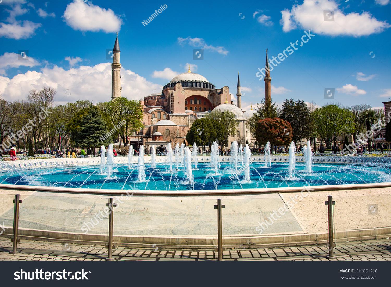 Hagia Sophia ( Ayasofya ) Exterior, A Former Orthodox ...