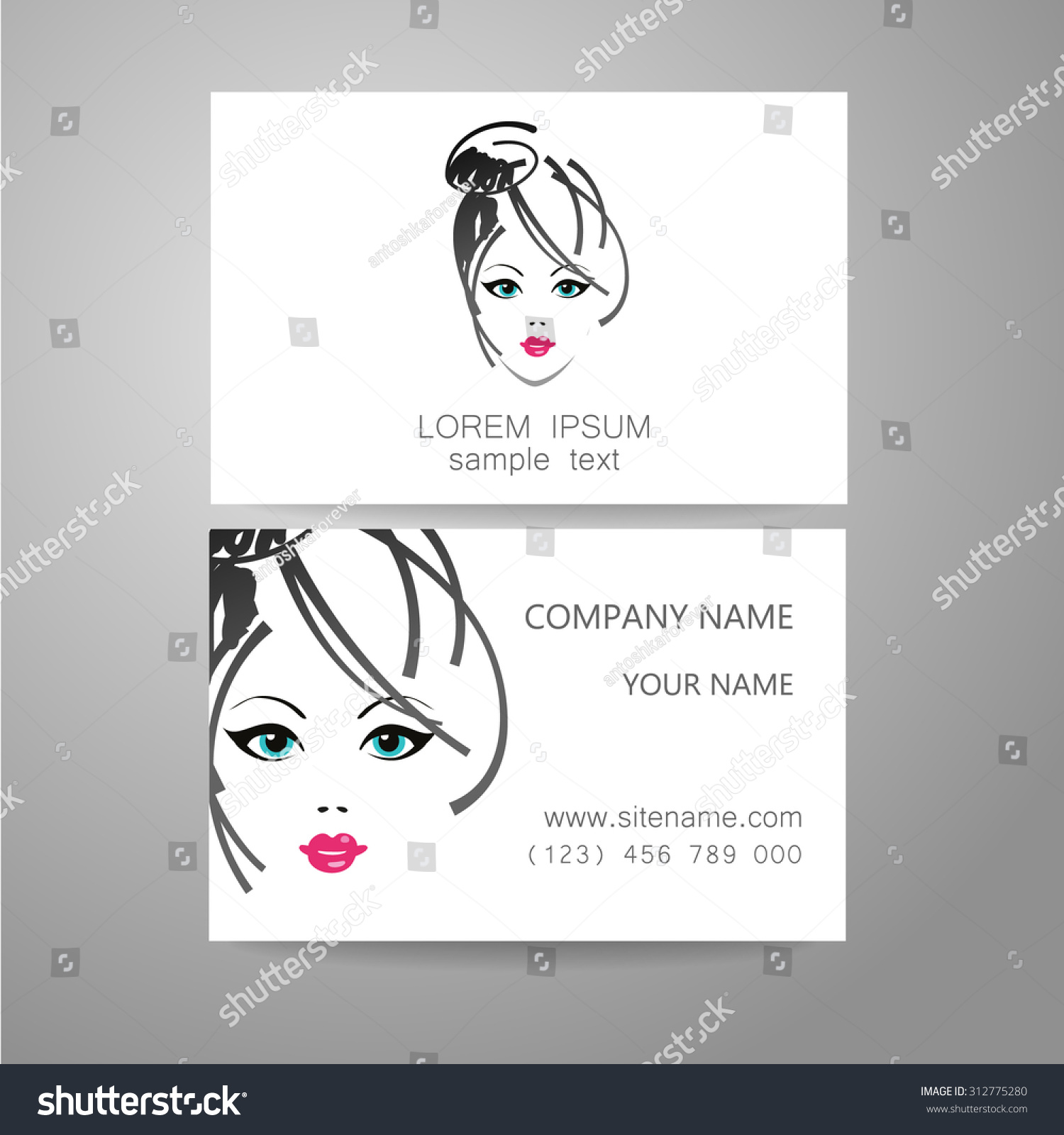 Hairdresser Business Cards Images - Free Business Cards