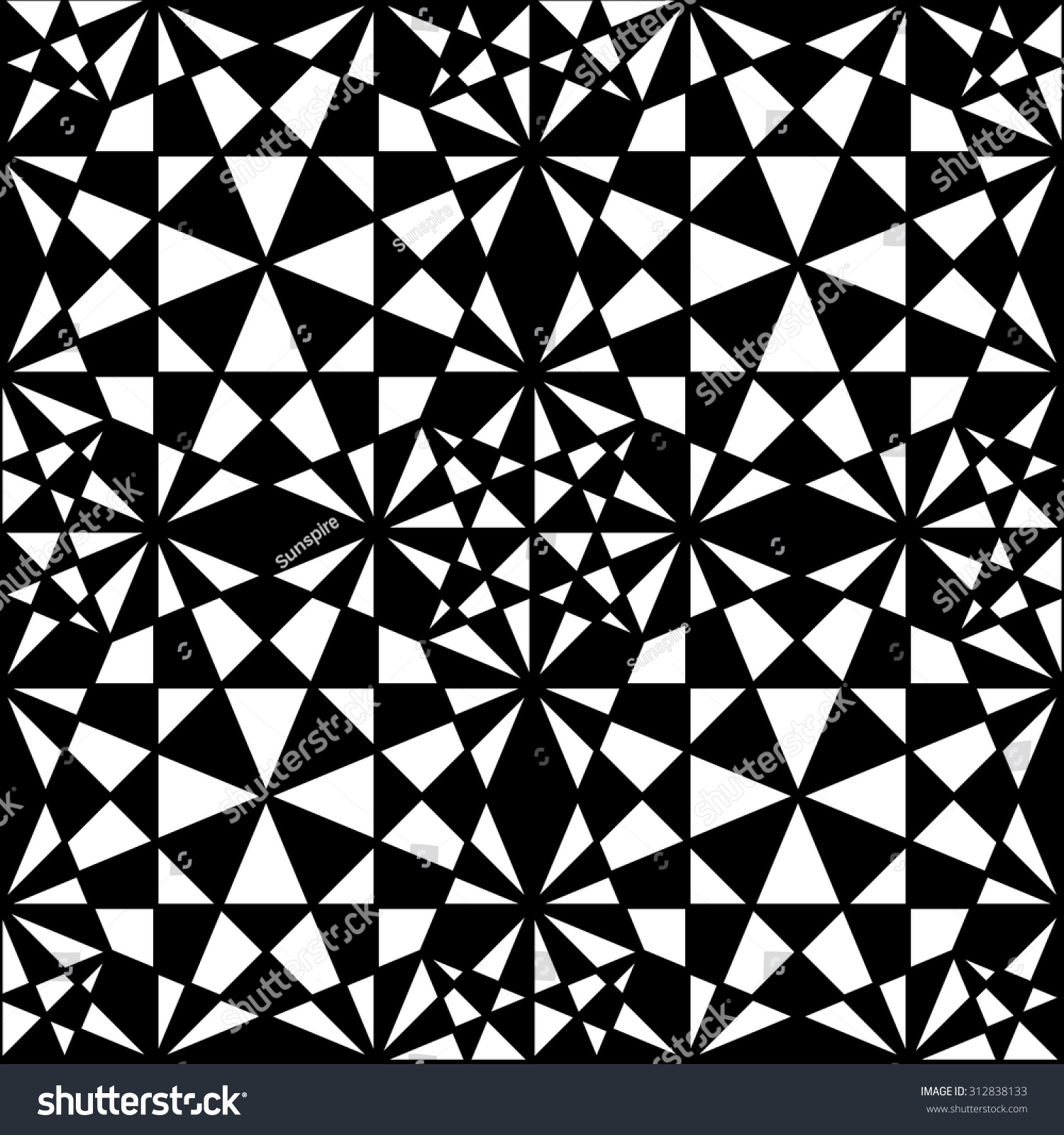Black bed sheets pattern - Vector Modern Seamless Pattern Black And White Textile Print Stylish Background Abstract Texture