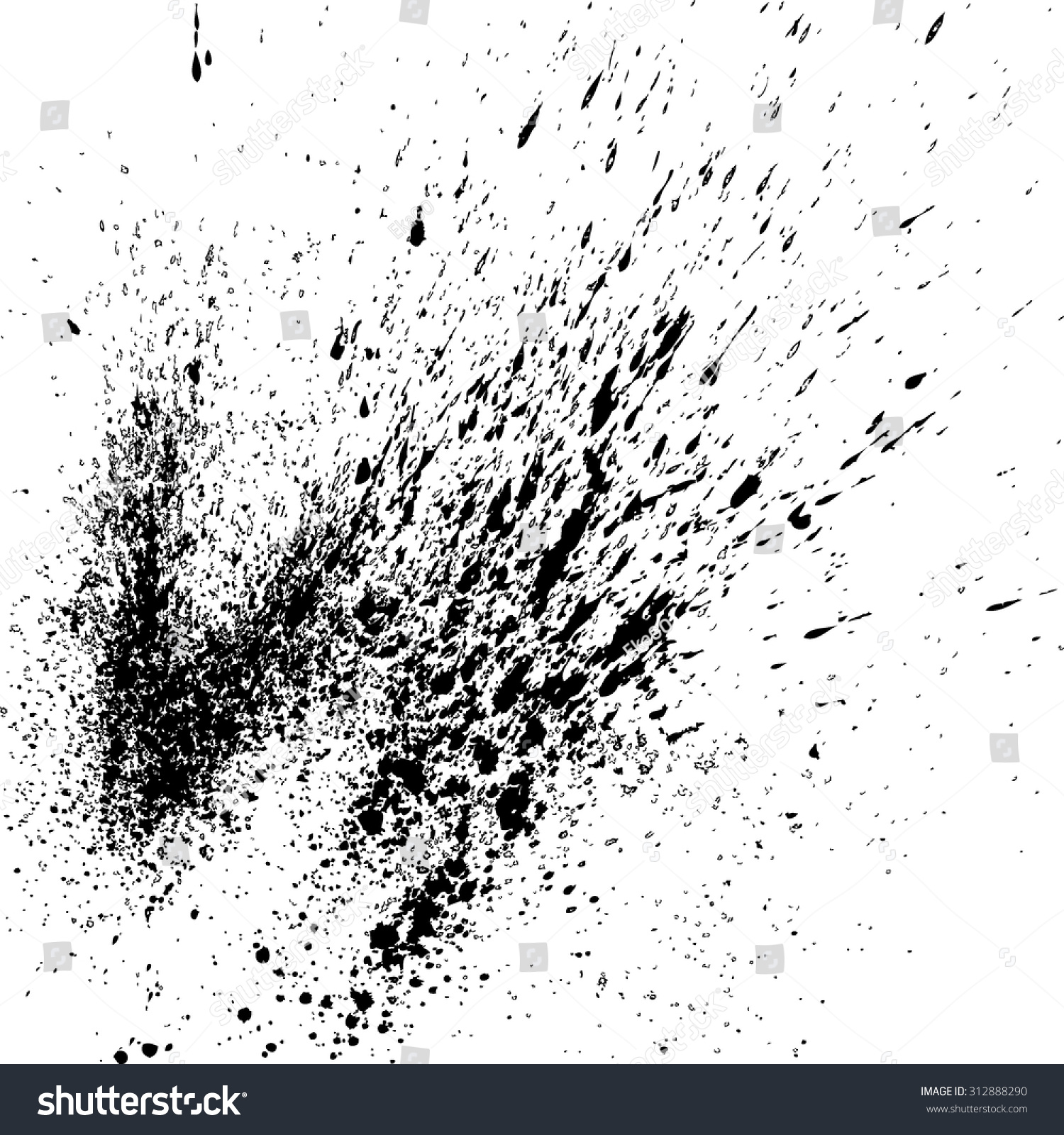 Cracked Dirt Grunge Texture Texture Create Stock Vector (Royalty Free)  312888290