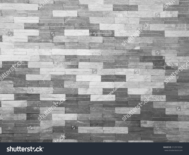 Texture Paint Black White Brick Wall Stock Photo Edit Now 312919334