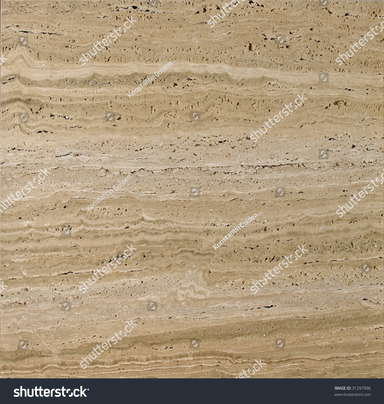 Beige Textured Travertine Stock Photo 31297996 : Shutterstock