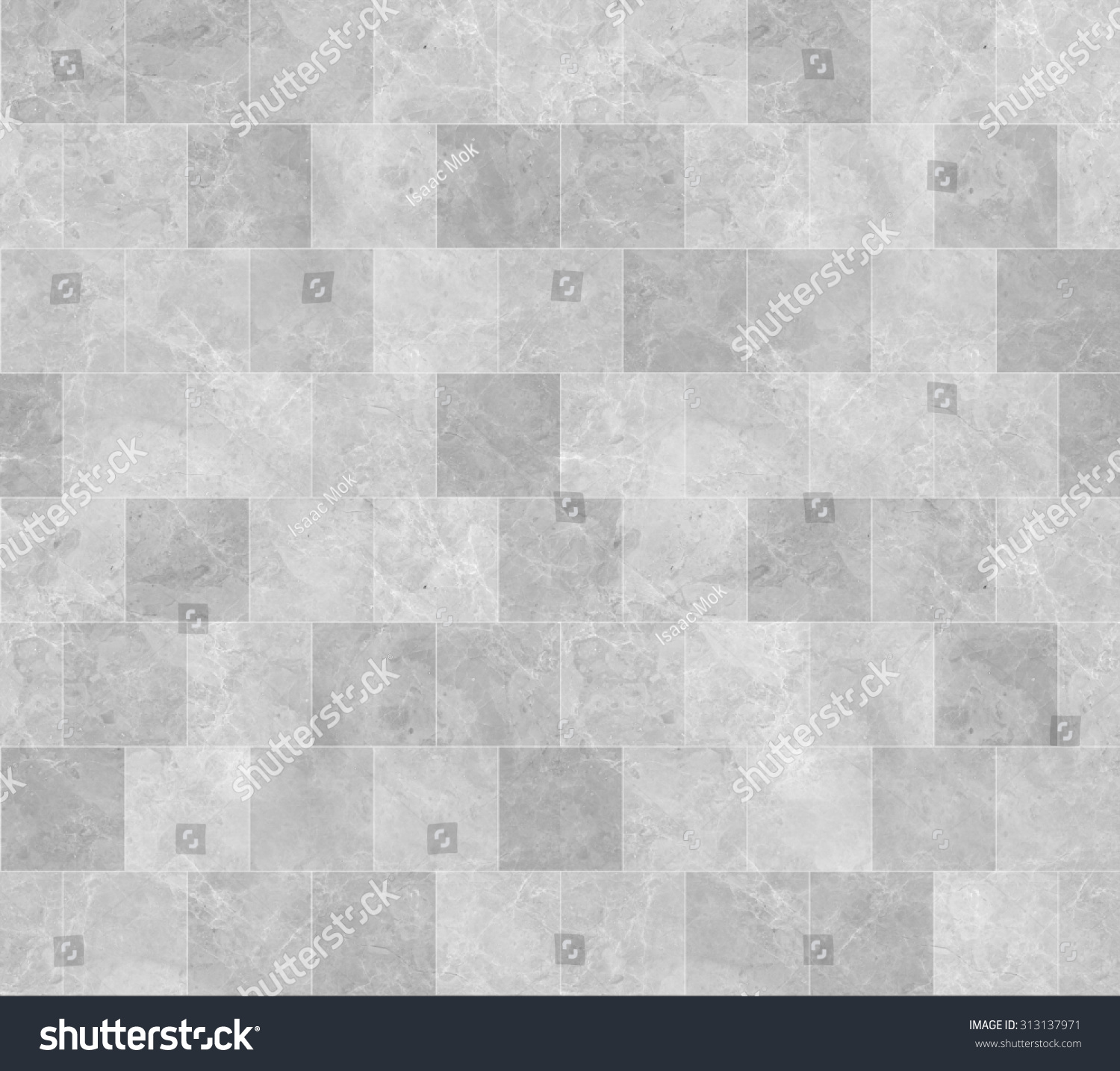 stone tile texture. Seamless Grey Marble Stone Tile Texture with White Joint Line Stock Photo 313137971