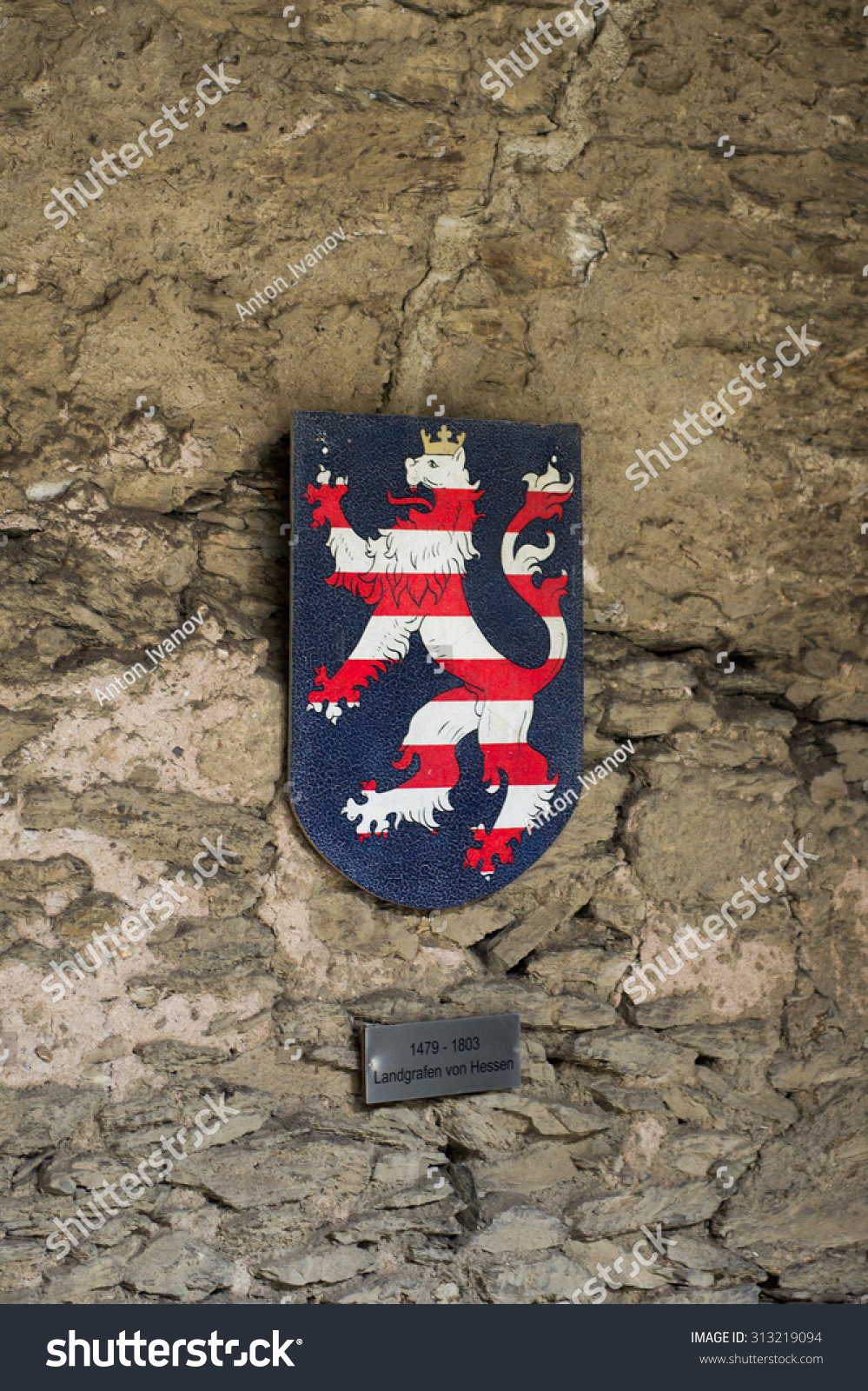 Braubach germany june 10 2015 old stock photo 313219094 shutterstock braubach germany june 10 2015 old german symbols in the marksburg castle biocorpaavc