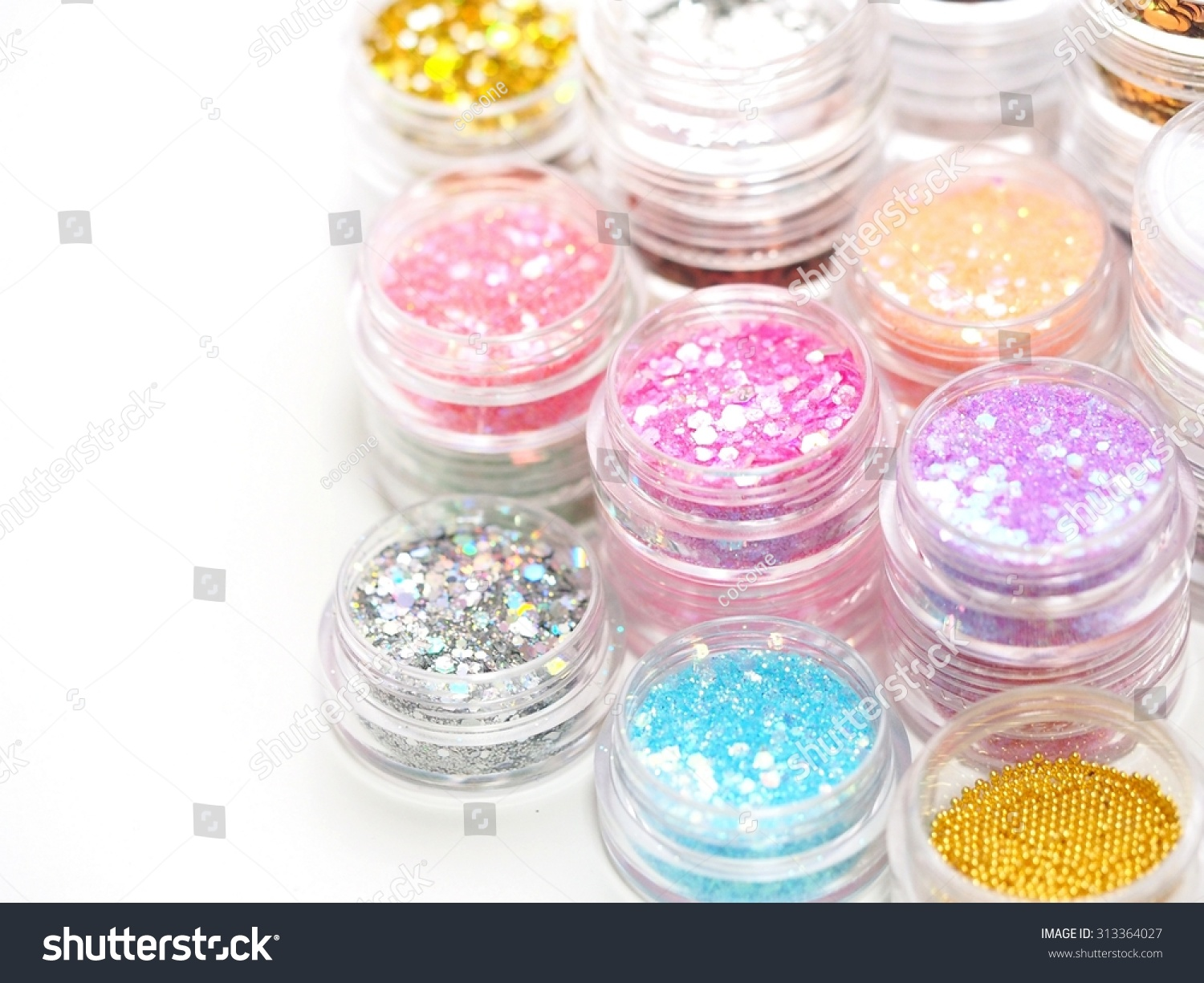 Nail Art Accessories Stock Photo Royalty Free 313364027 Shutterstock