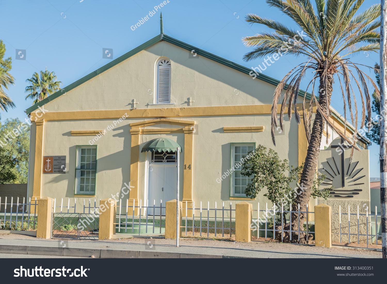 New Apostolic Church Britstown Small Town Stock Photo (Edit Now