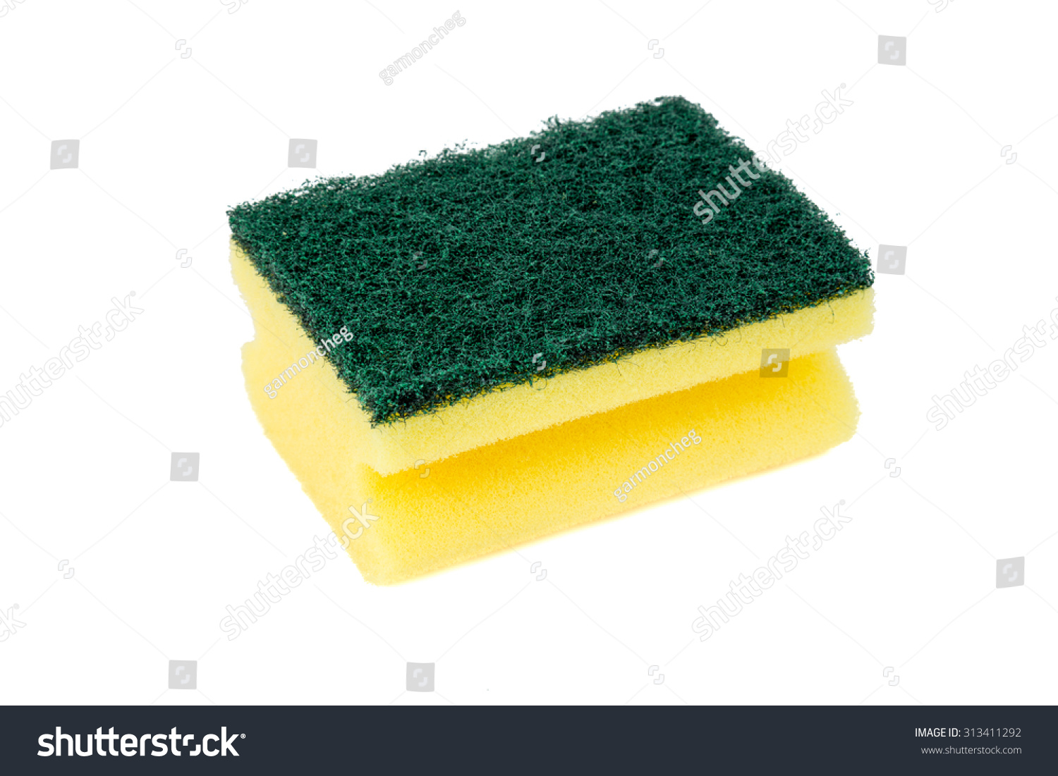 Yellow Cleaning Sponge...