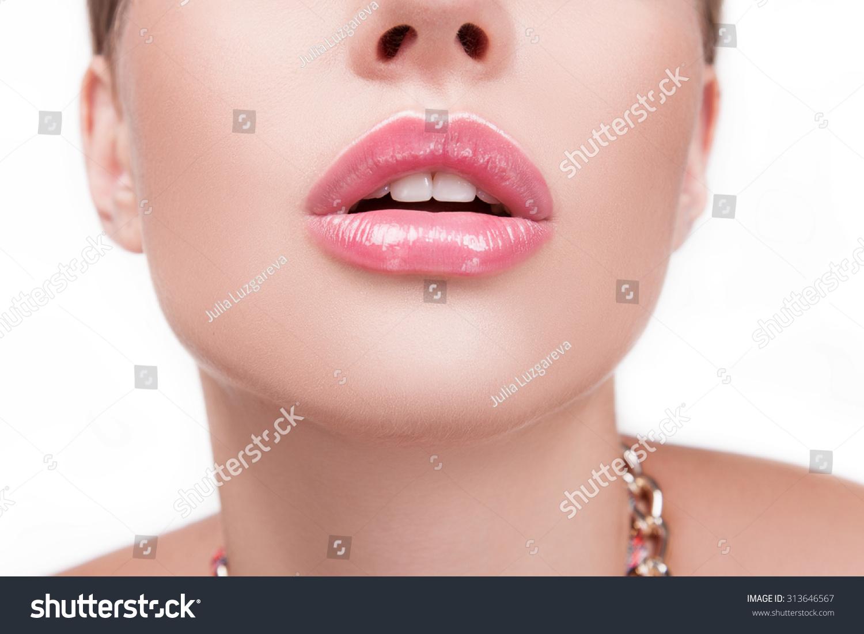 Sexy Face Open Mouth Close Up - Xxx Photo-7525