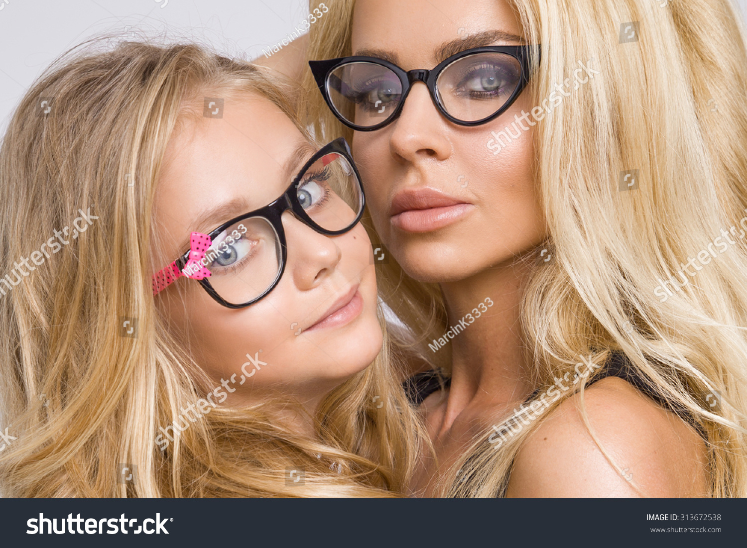 Beautiful Young Blond Sexy Mom Adorable Stock Photo 313672538 - Shutterstock-3983