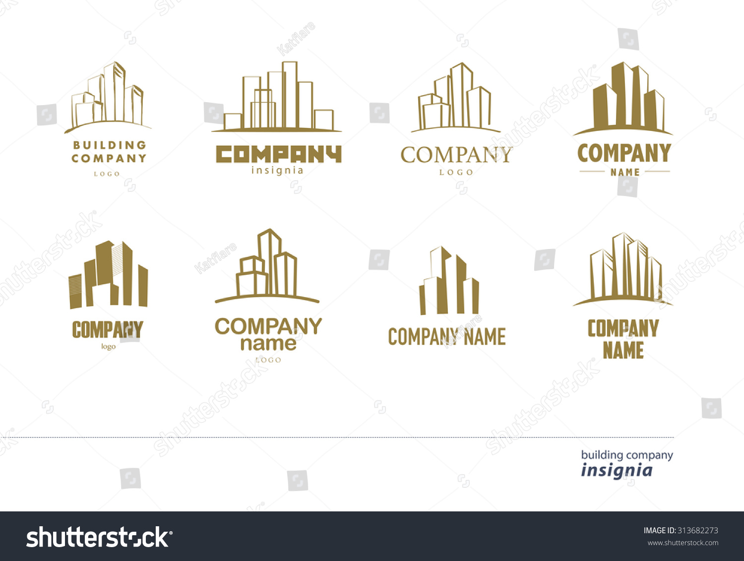 Royalty free logo design for urban building company for Architecture design company