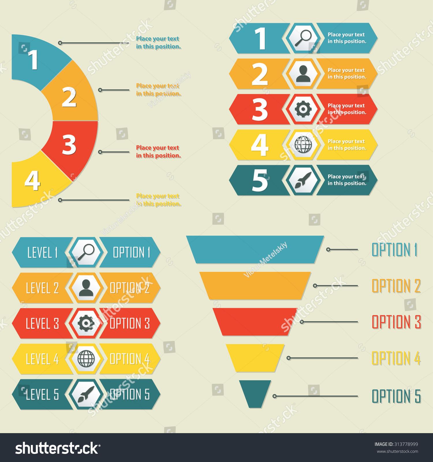 Infographic Templates Infographics Design Elements Web Stock ...