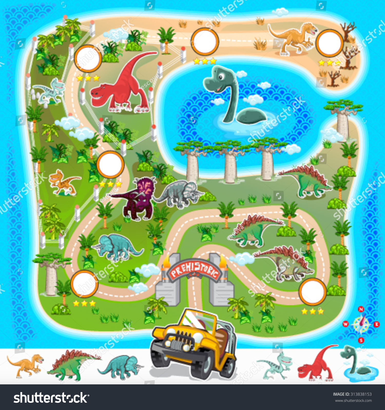 Pics For Gt Zoo Map Template For Kids