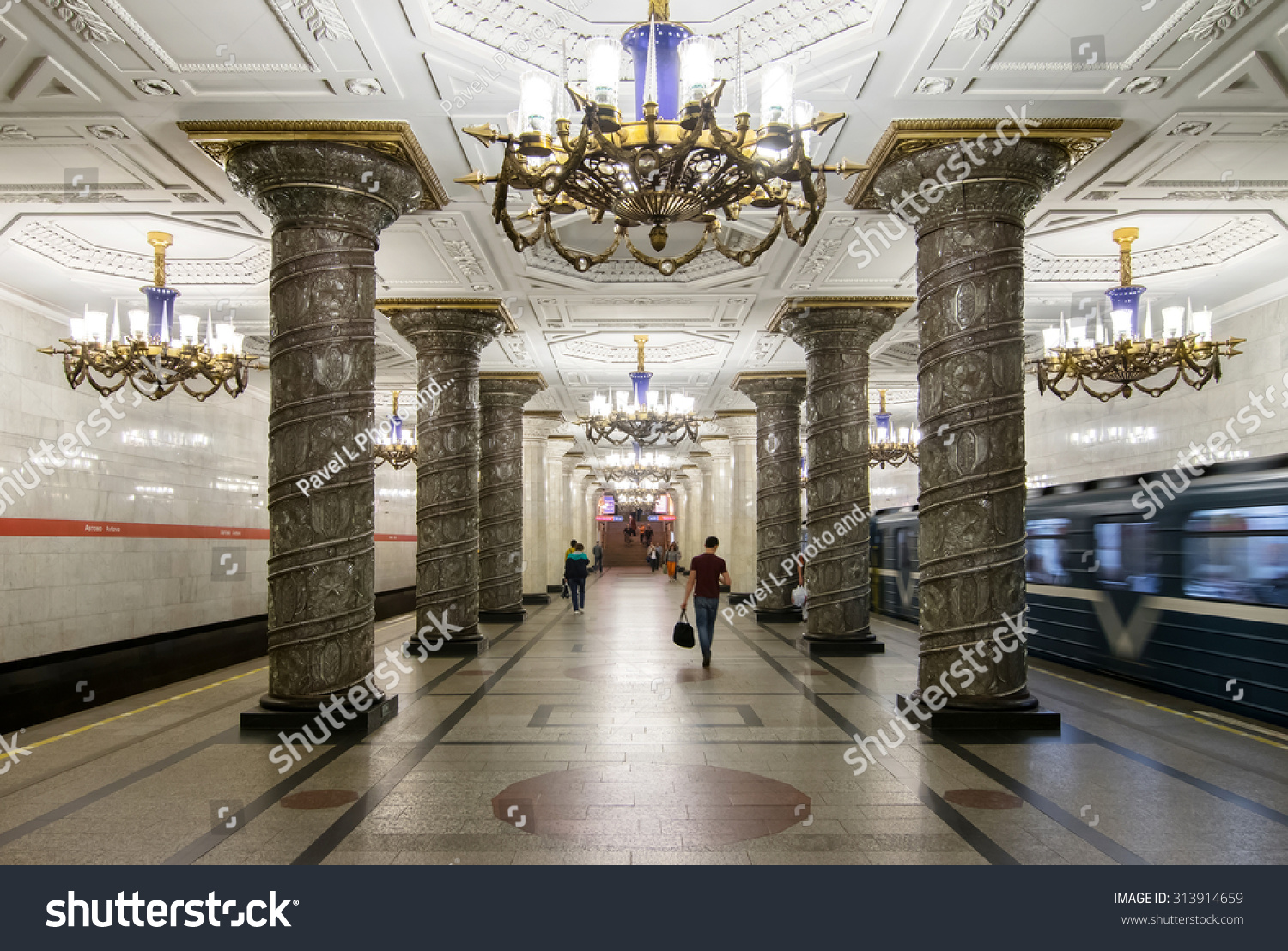 St Petersburg Russia June Stock Photo Shutterstock - The 12 most beautiful metro stations in the world