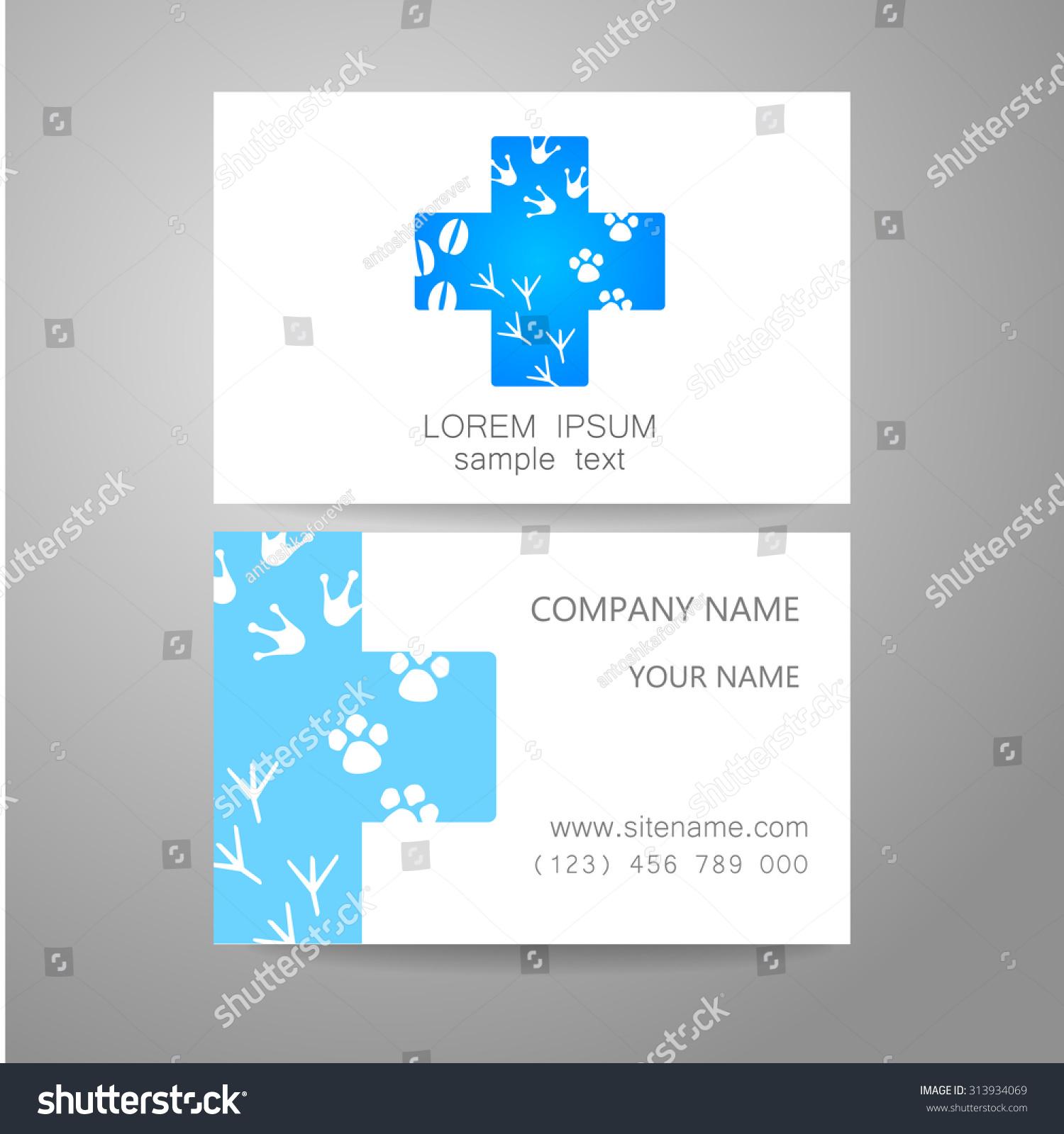 veterinary template logo idea logo veterinary stock vector 313934069 shutterstock. Black Bedroom Furniture Sets. Home Design Ideas