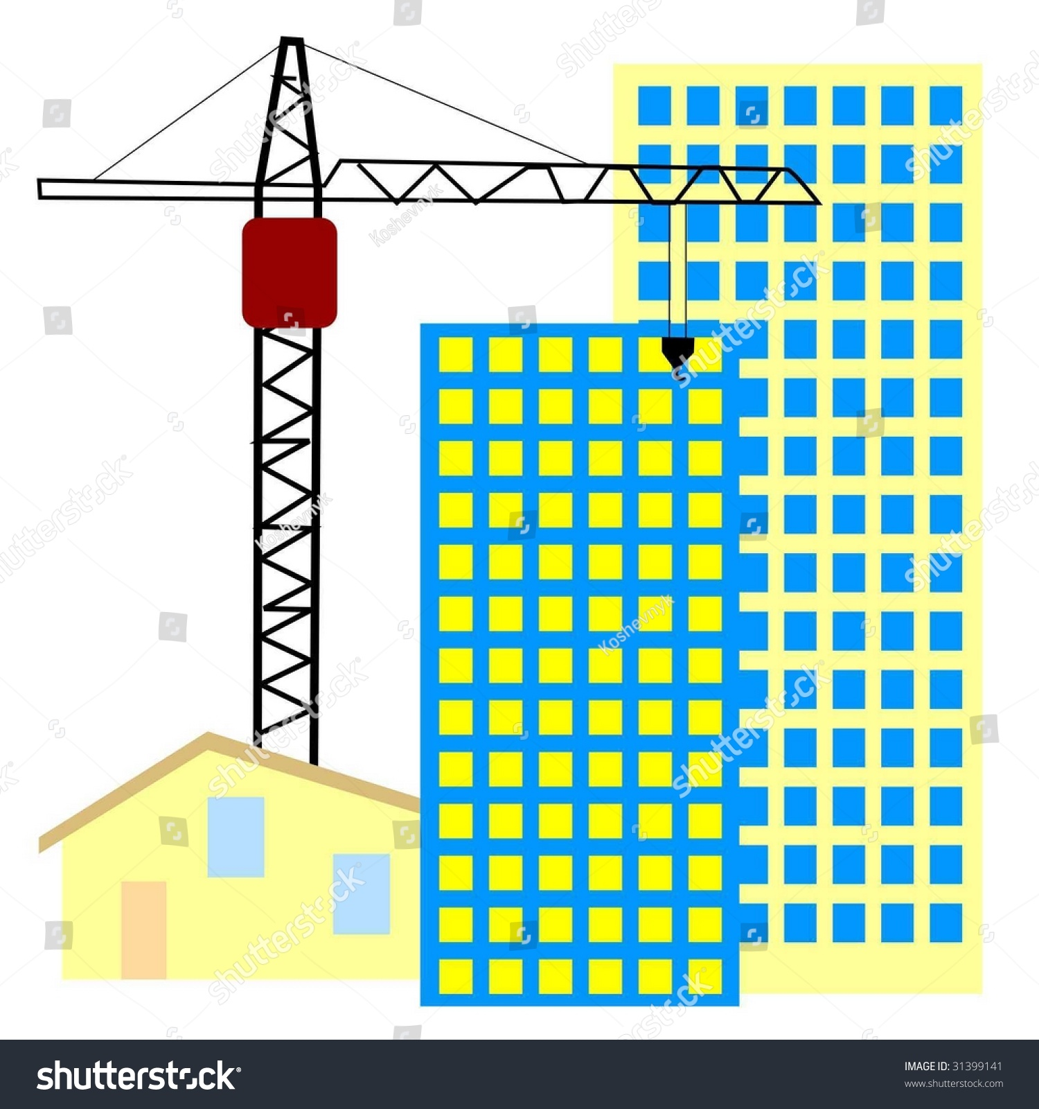 Symbol construction activity stock vector 31399141 shutterstock symbol of construction activity buycottarizona Image collections