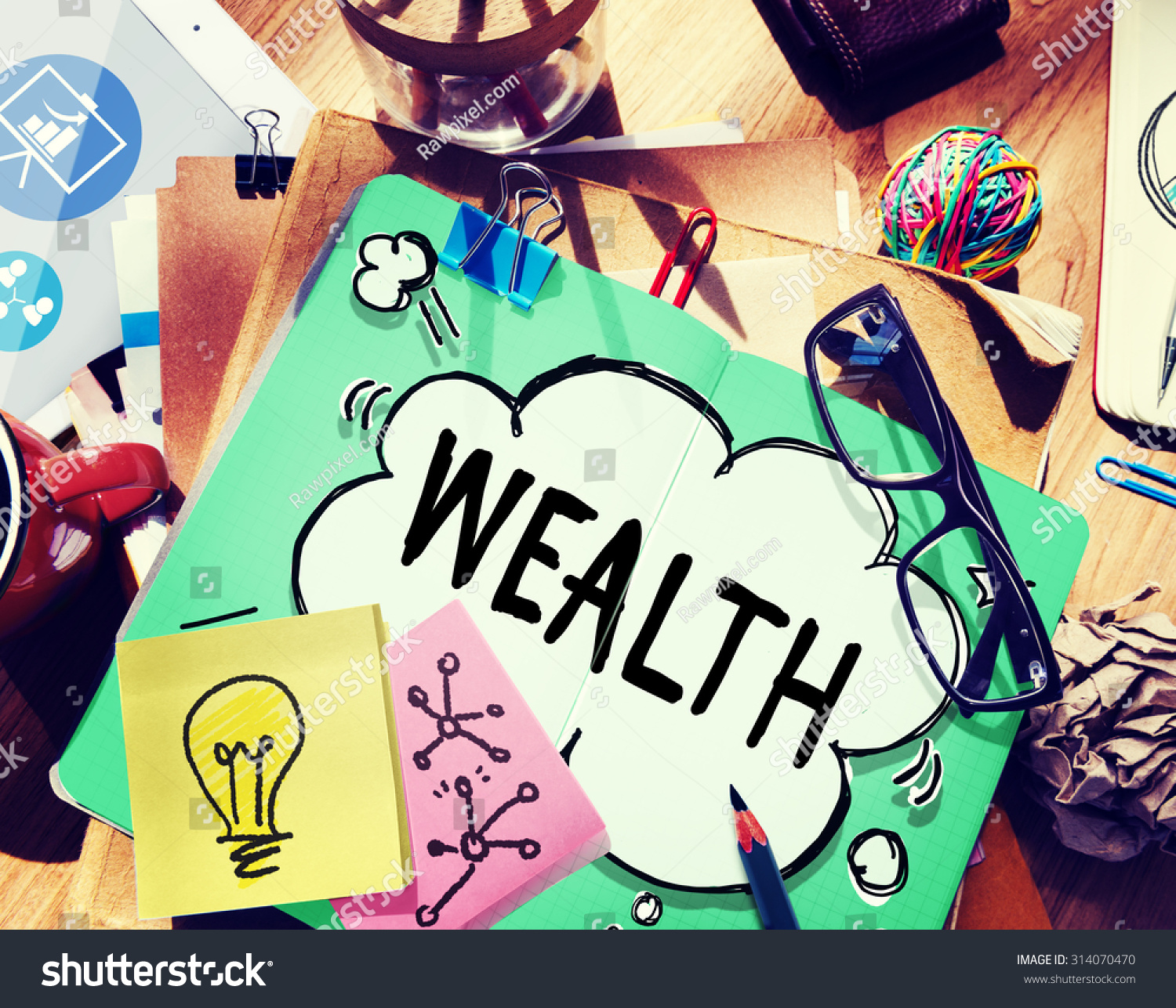 the concept of wealth in the The concept of wealth in the context of wealth maximisation objective refers to the shareholders' wealth as reflected by the market price of their shares in the share market hence, maximisation of wealth means maximisation of the market price of the equity shares of the company.