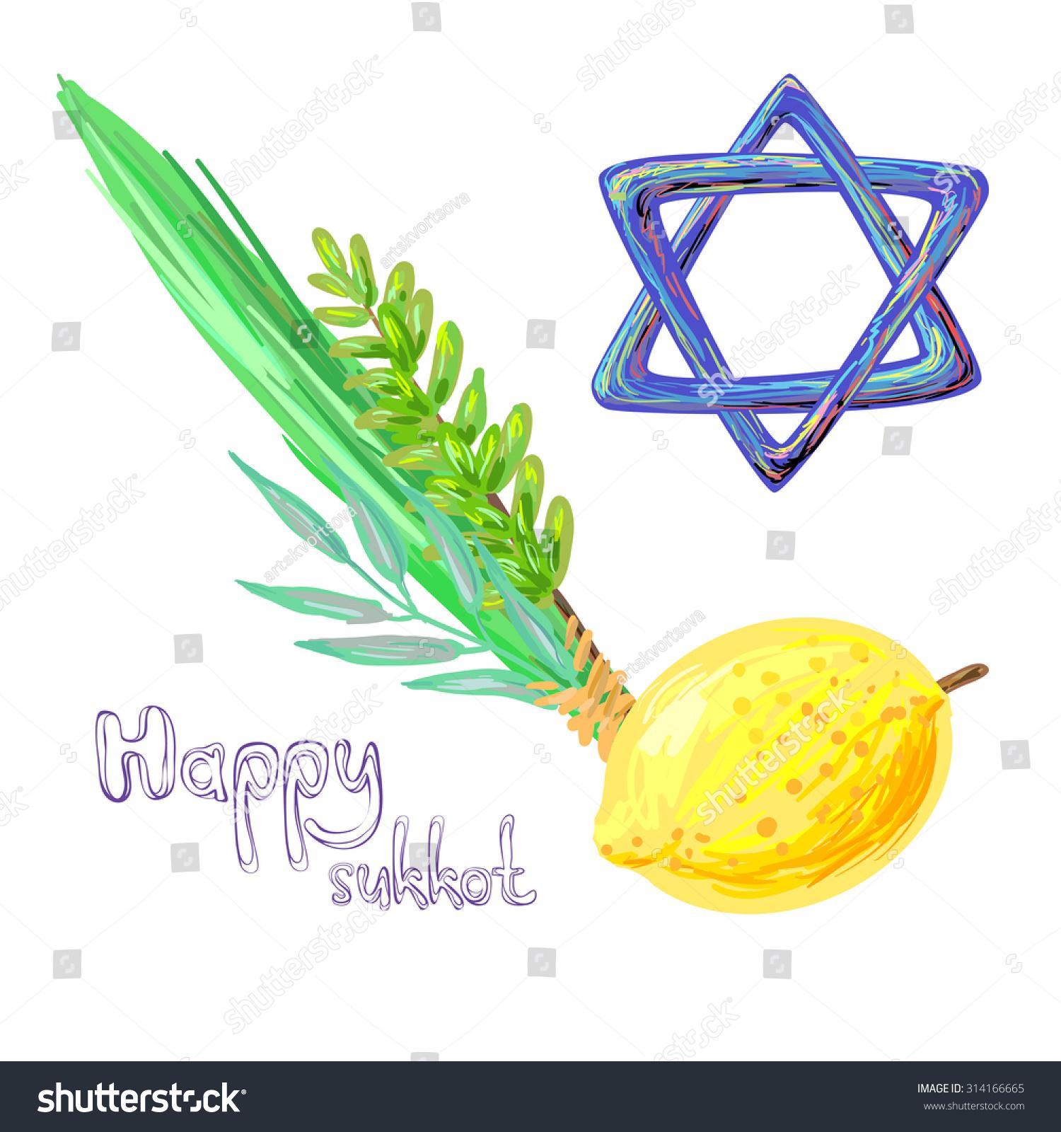 Jewish Celebration Symbols
