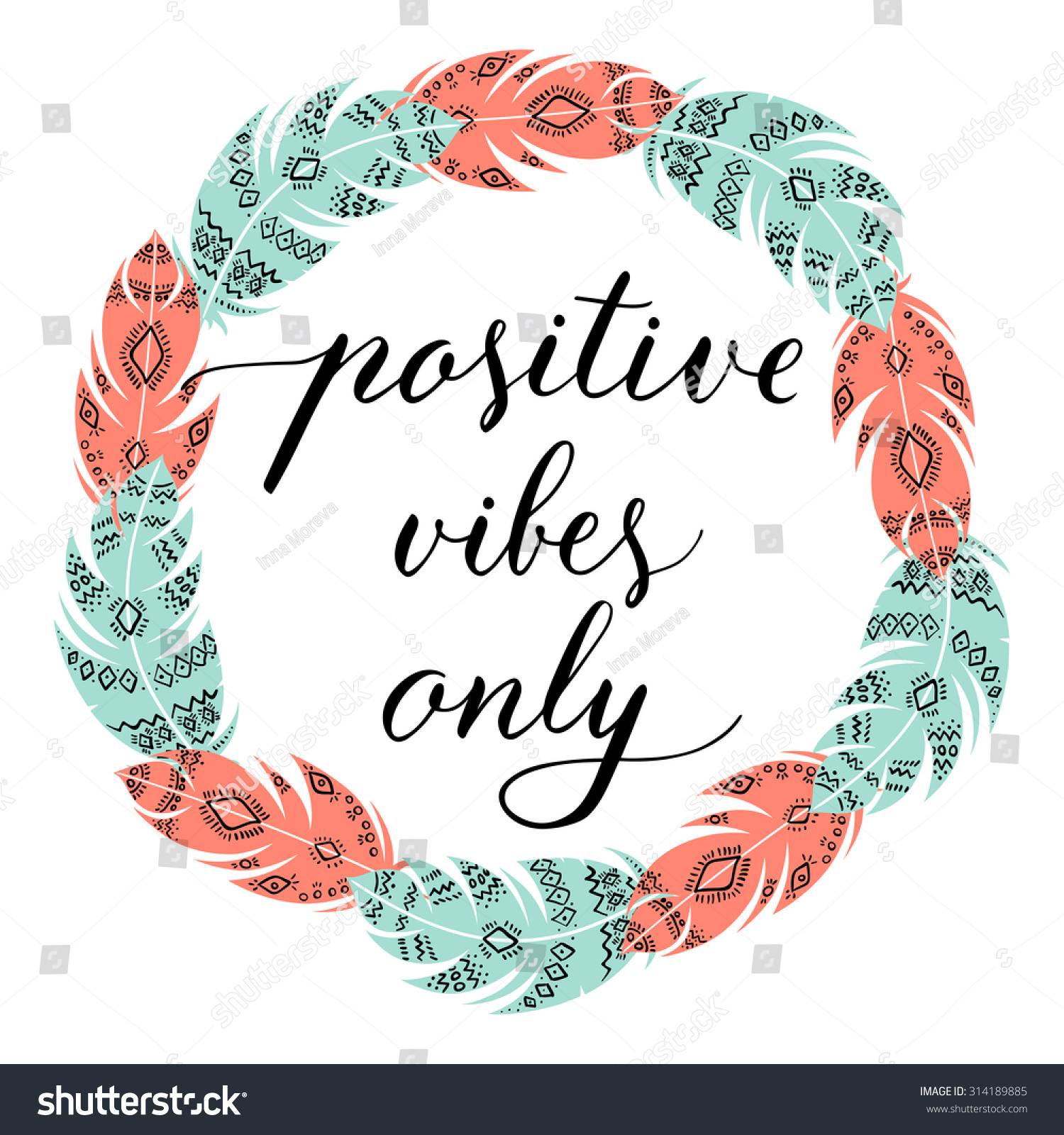 Clip Art Positive Vibe Quotes