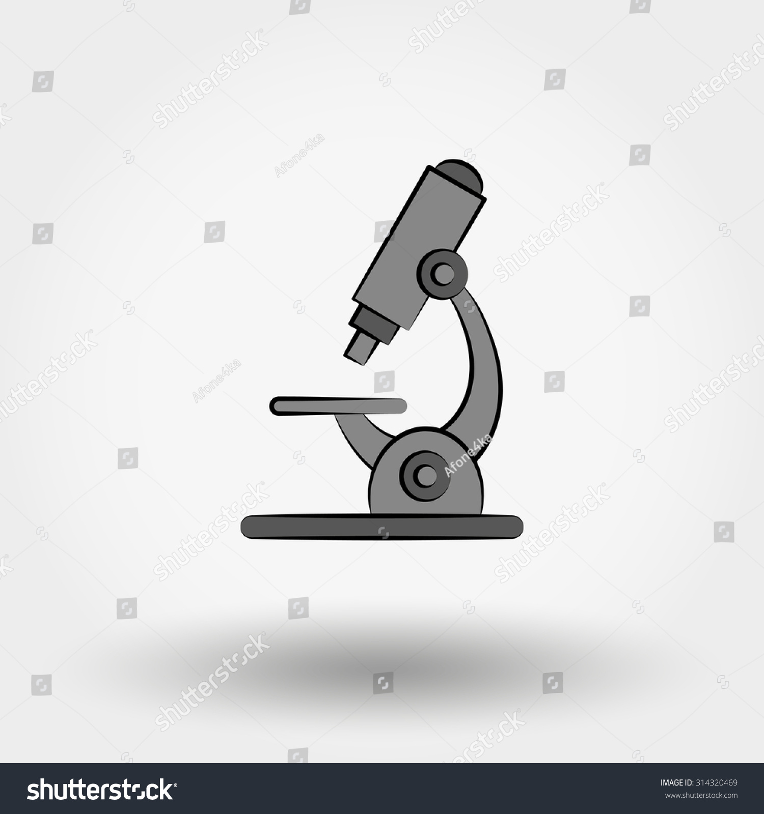 microscope illustration on white background doodle stock illustration 314320469 shutterstock
