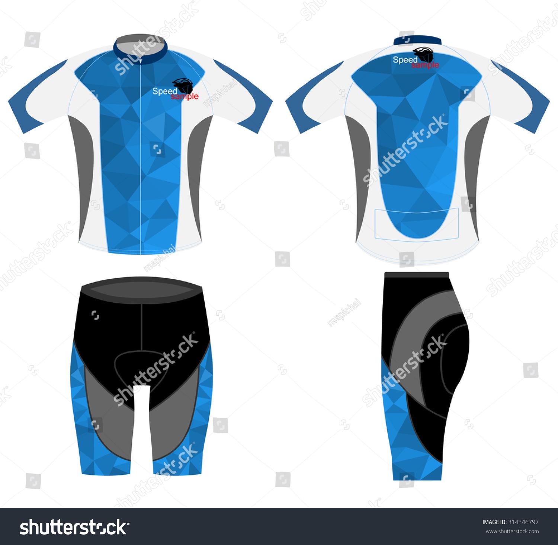 Tshirt sports bike new design blue stock vector 314346797 for Design t shirt sport