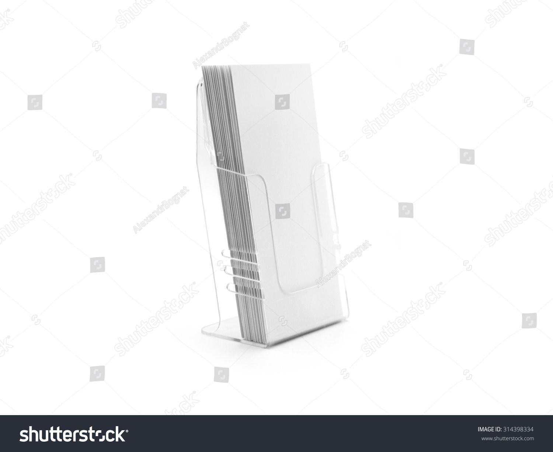 Flyer glass plastic holder flyer stand brochure holder for Plastic flyer stand
