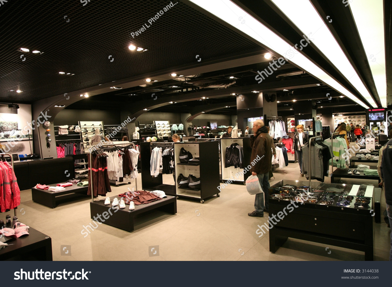 sport shop interior stock photo 3144038 shutterstock. Black Bedroom Furniture Sets. Home Design Ideas