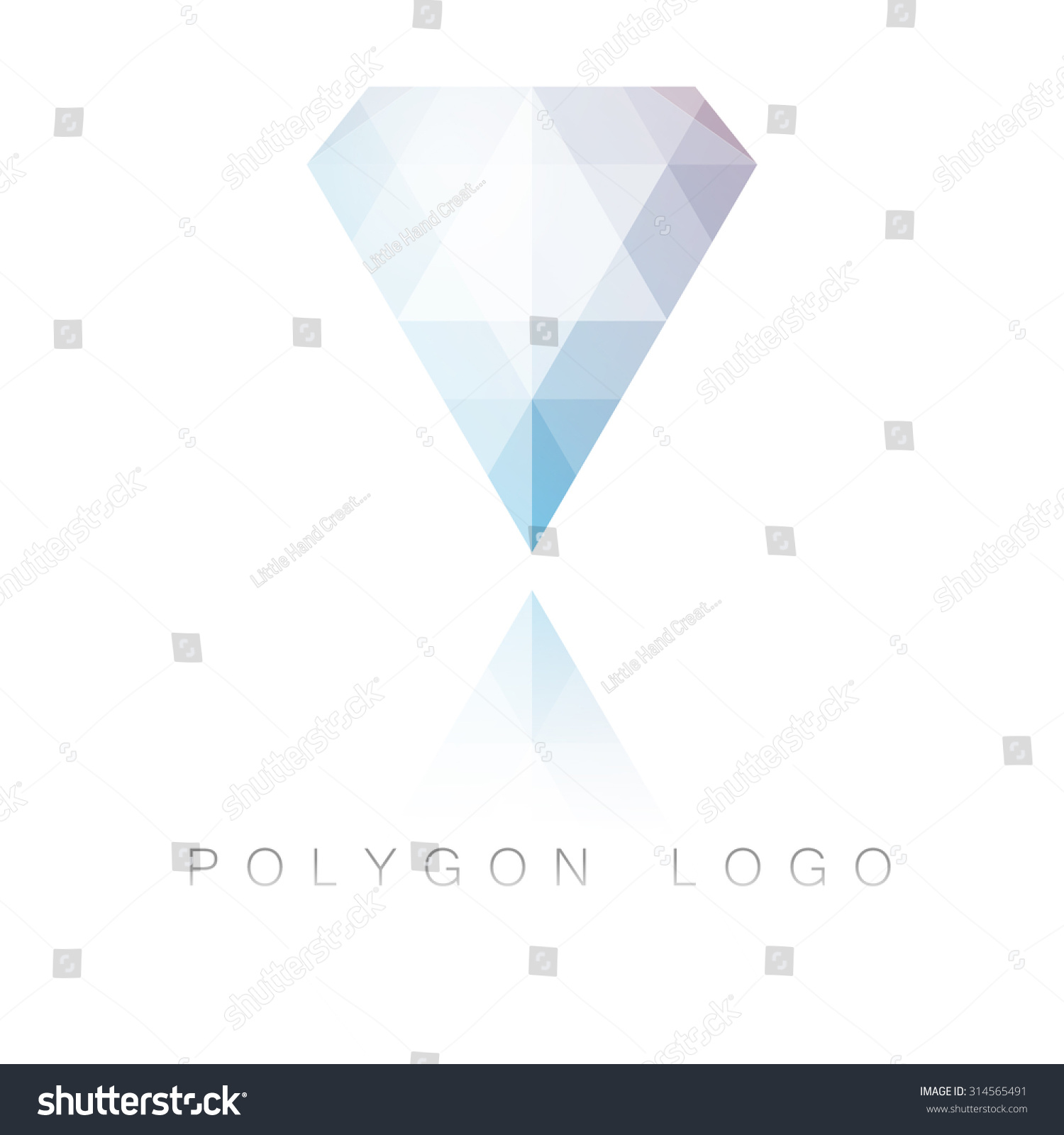 watch diamond a icon polygon coreldraw draw tutorial flat youtube