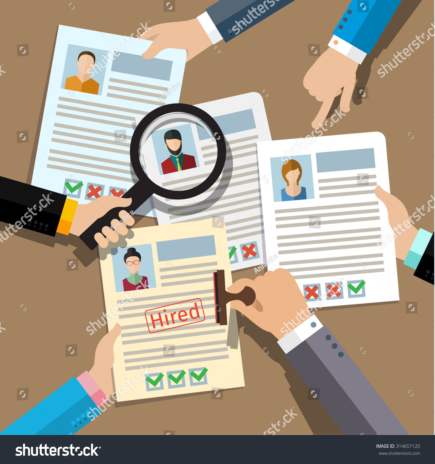concept searching professional staff analyzing personnel stock