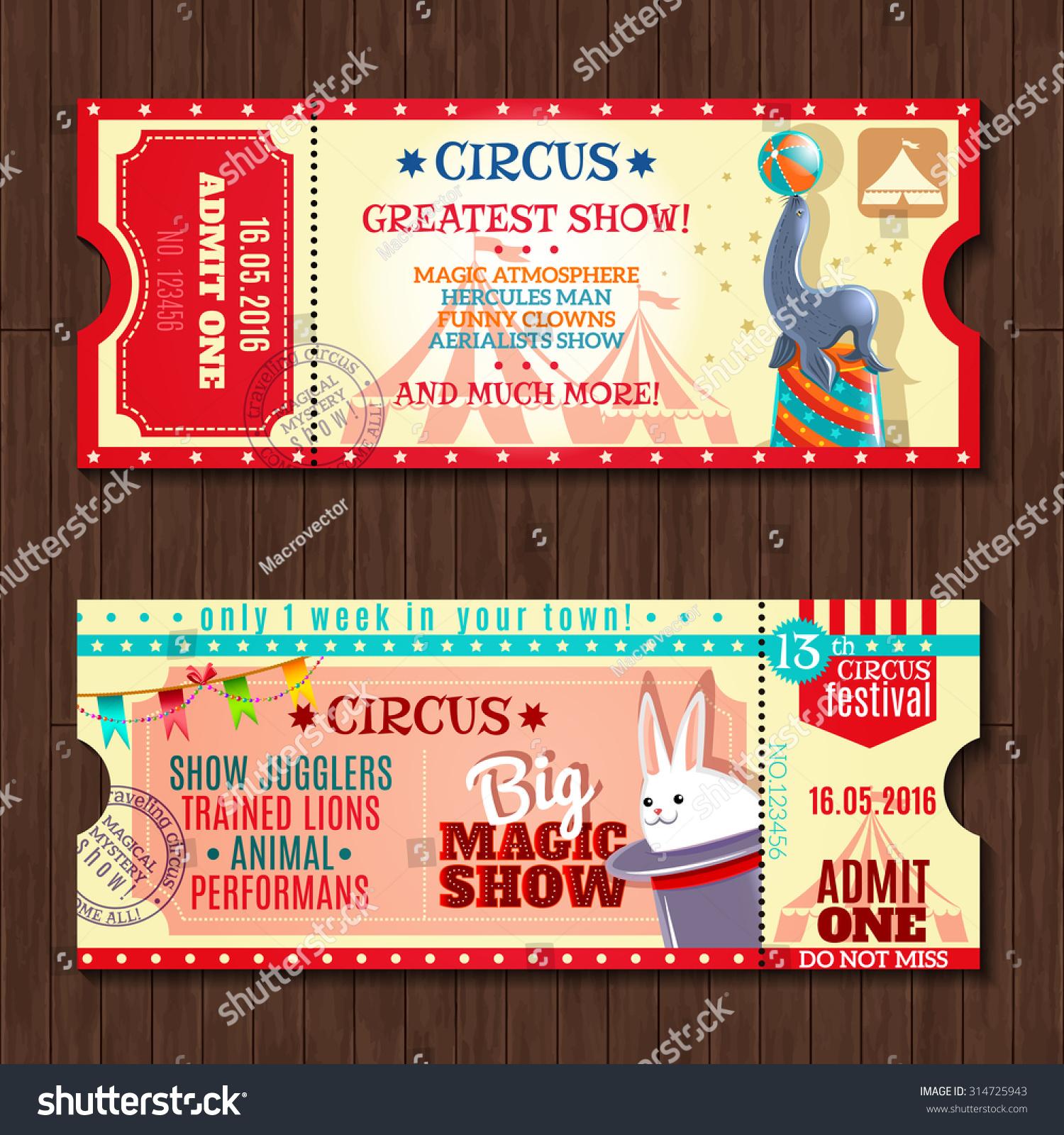 Doc600253 Show Ticket Template Night Club ticket template – Show Ticket Template