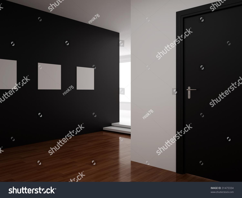 High Resolution Image Interior 3d Illustration Modern
