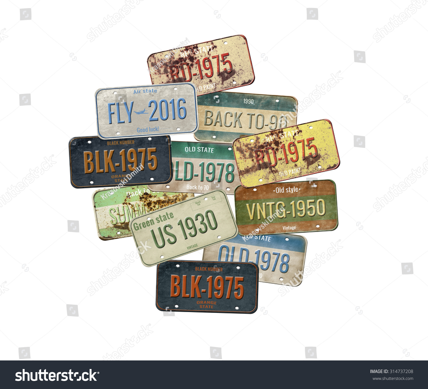 how to find car license plate number