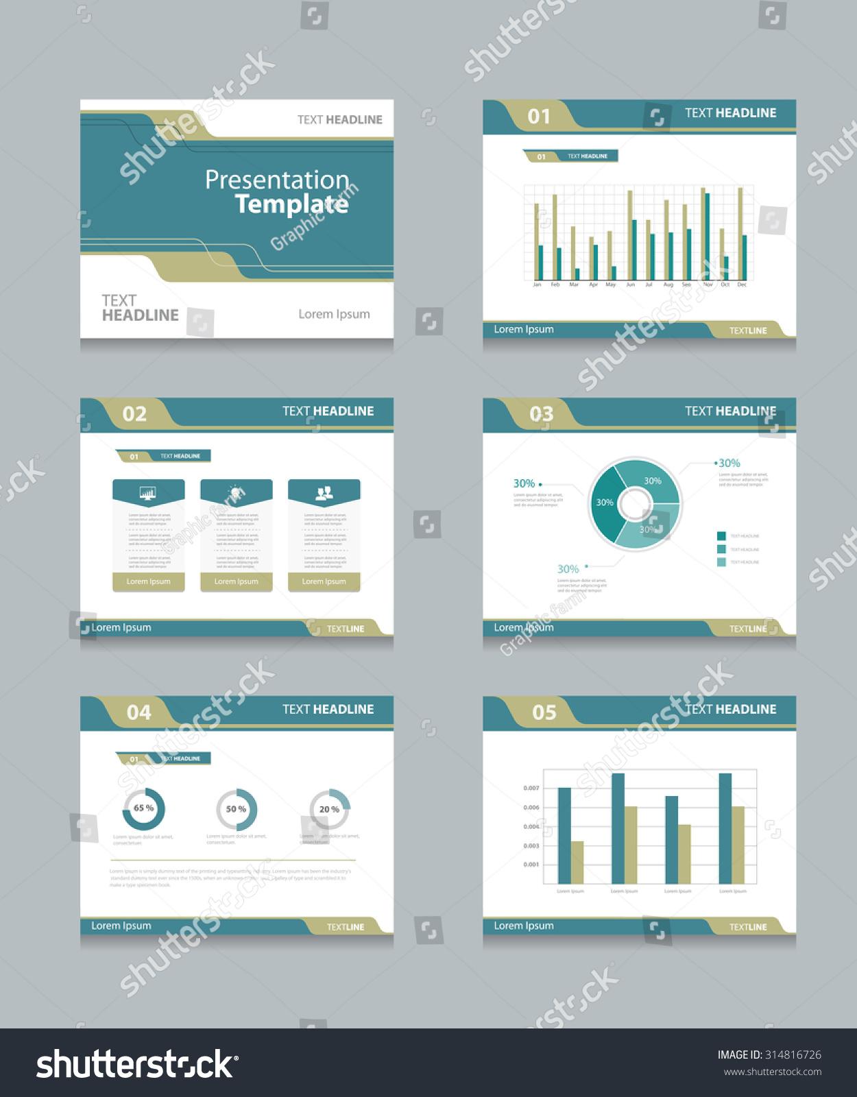 Vector Template Presentation Slides Background Designinfo ...