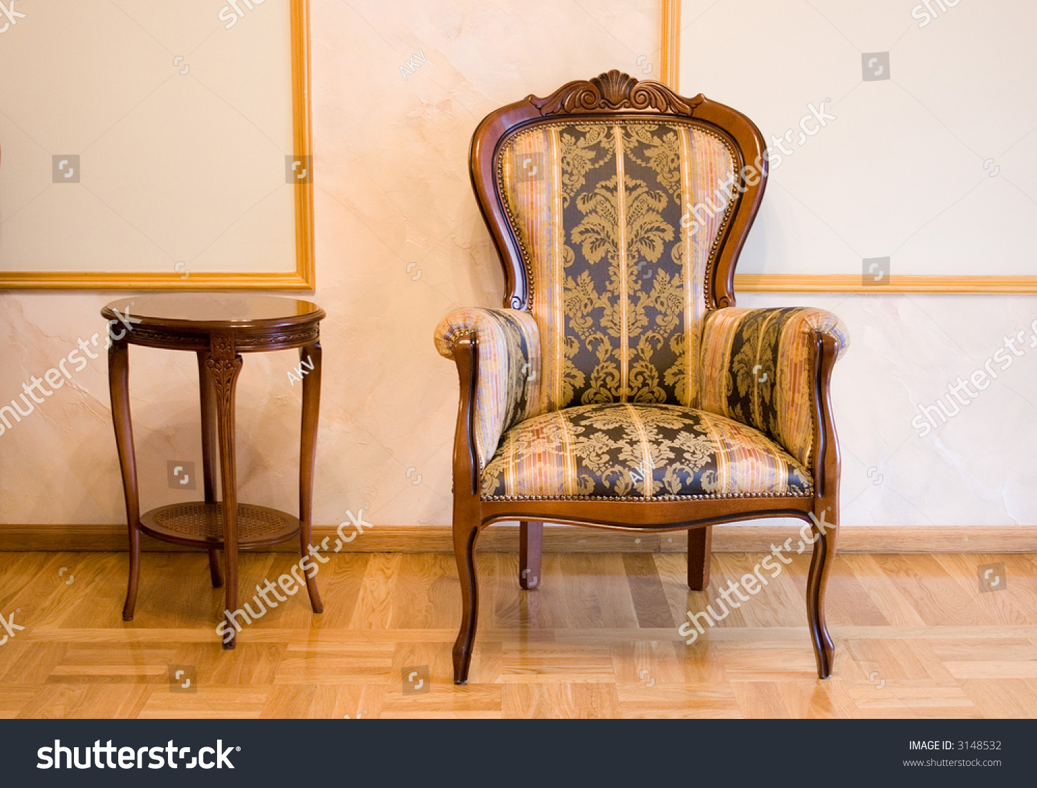 Old-Fashioned Furniture Stock Photo 3148532 : Shutterstock