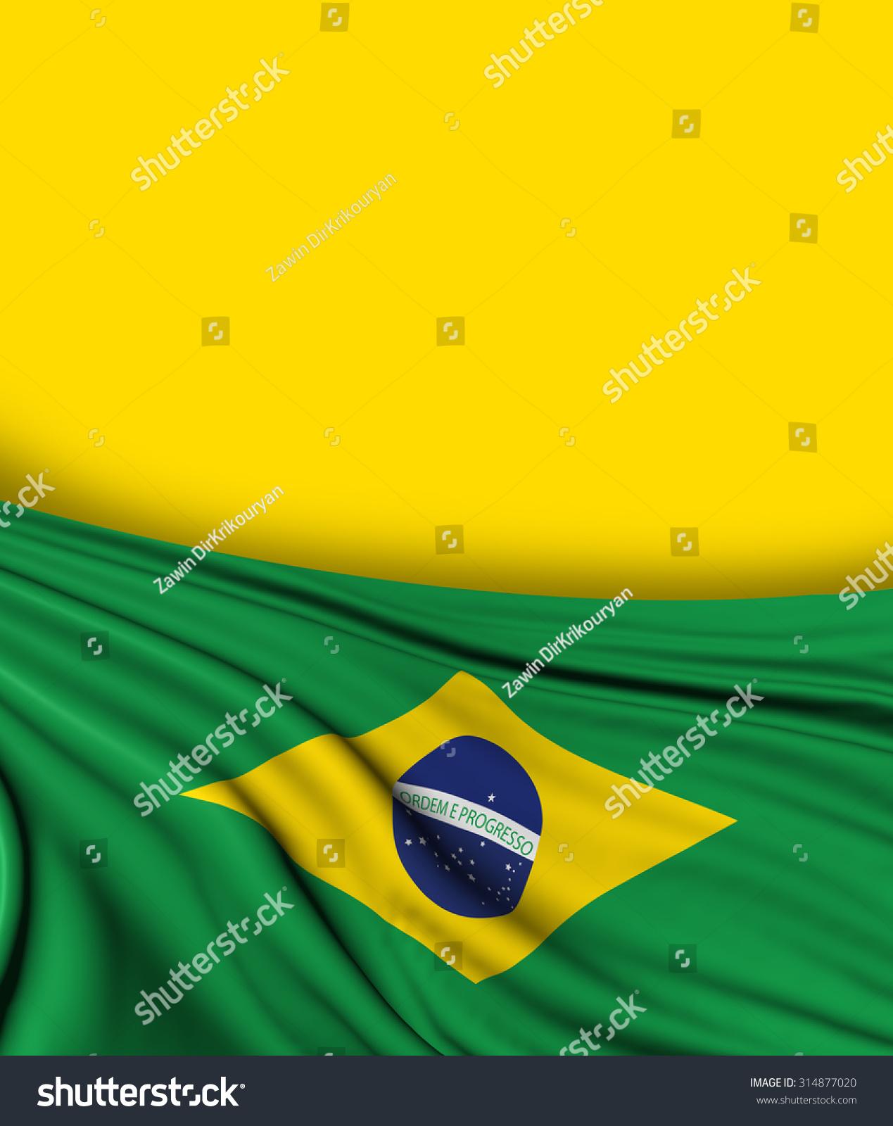 d3f8268ee35 Brazil Flag Brazilian Background Brasil Design Stock Illustration ...