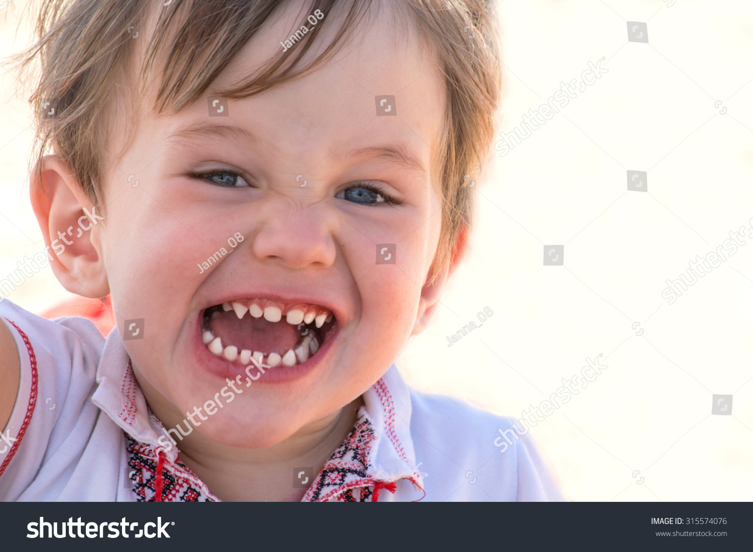 cute happy little child healthy baby stock photo (100% legal