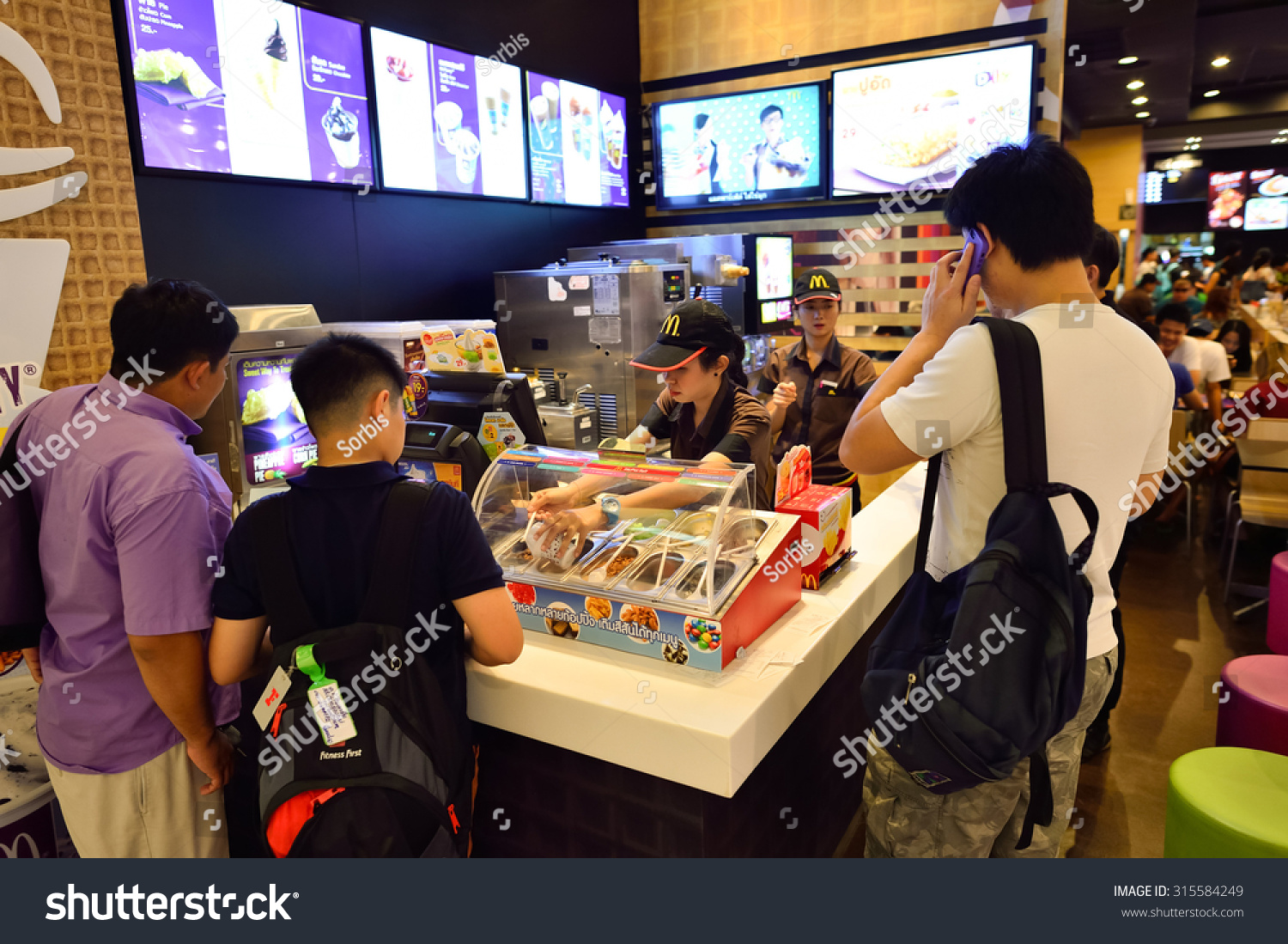 BANGKOK THAILAND JUNE 21 2015 Mc Donalds Stock Photo (Edit Now