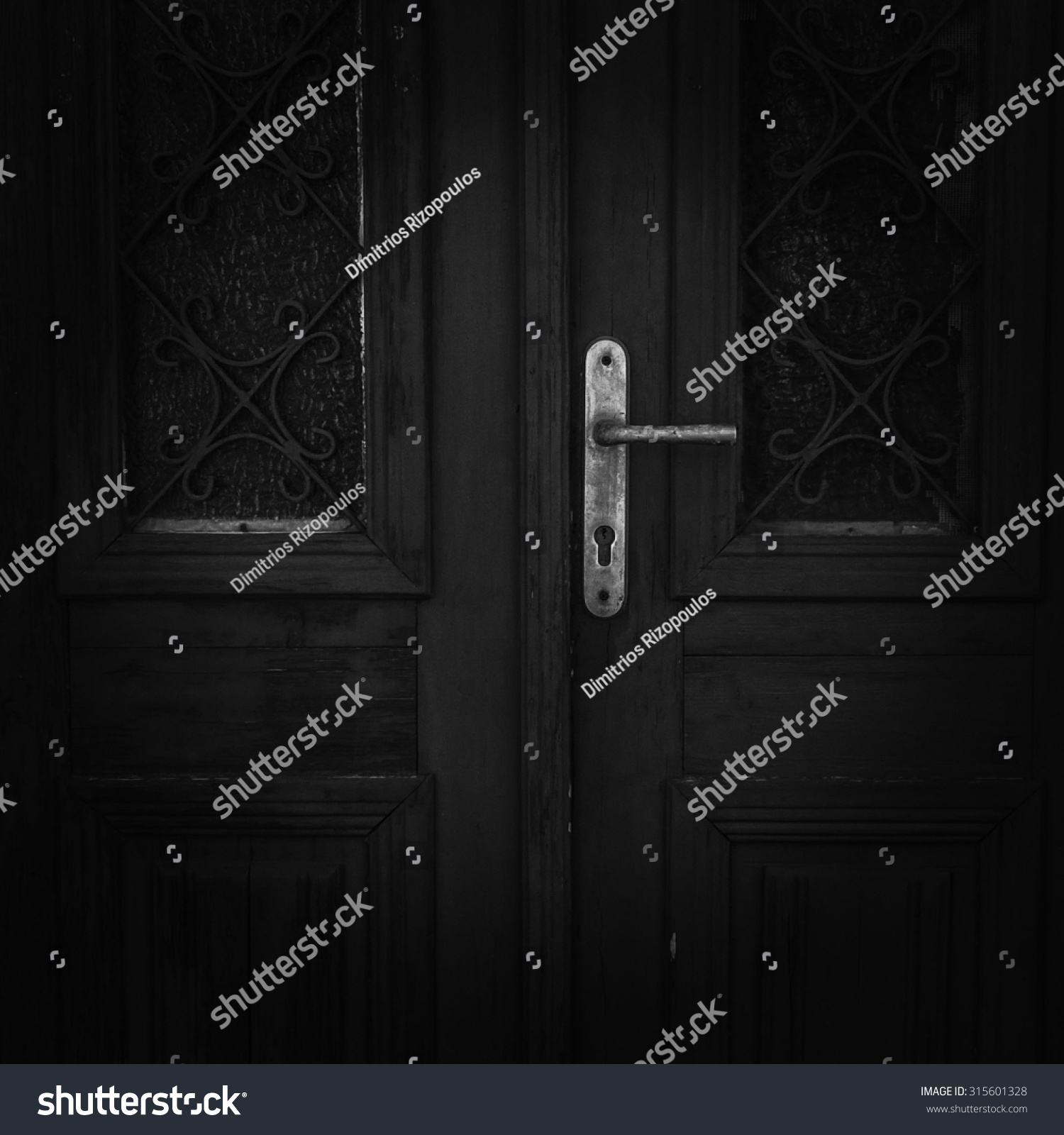 Dark Mystery door & Dark Mystery Door Stock Photo 315601328 - Shutterstock pezcame.com