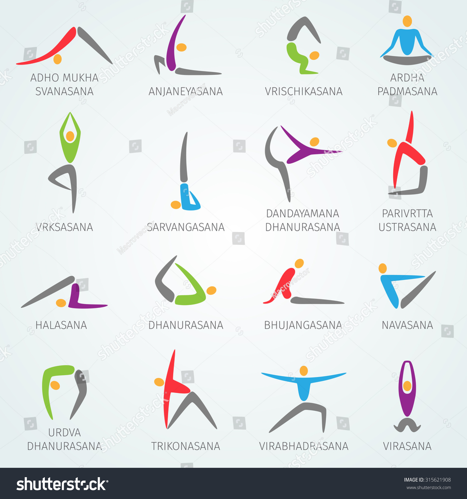 Yoga Poses And Names For Kids Yoga Positions Names P...