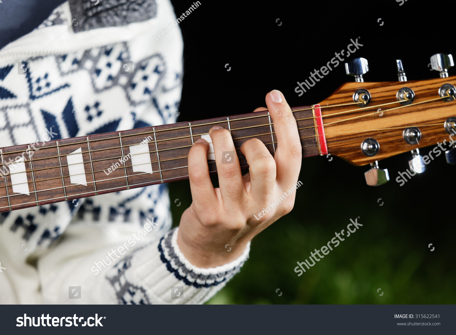 F Major Guitar Chord Stock Photo Edit Now 315622541 Shutterstock