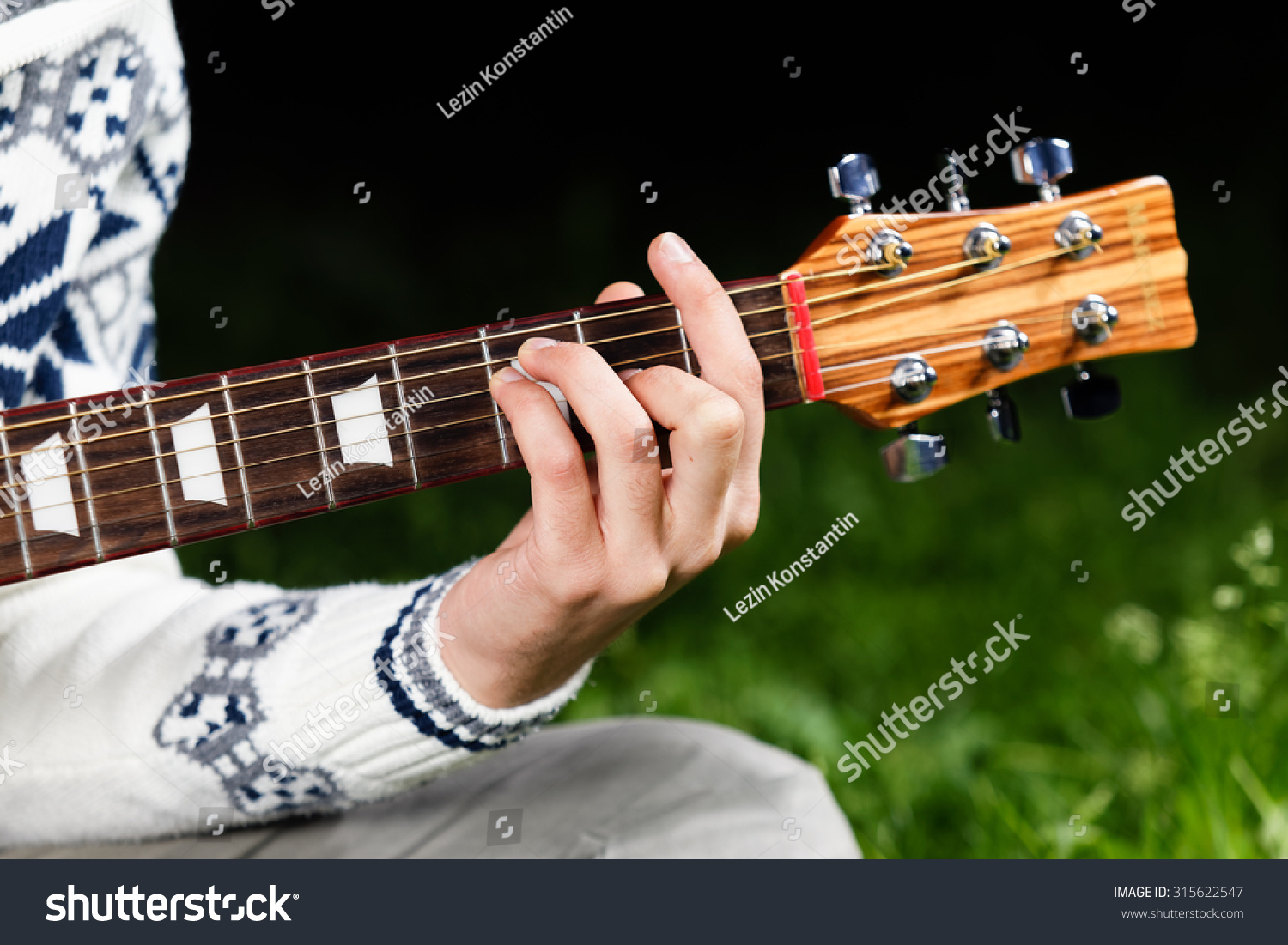 F Major Guitar Chord Stock Photo Edit Now 315622547 Shutterstock