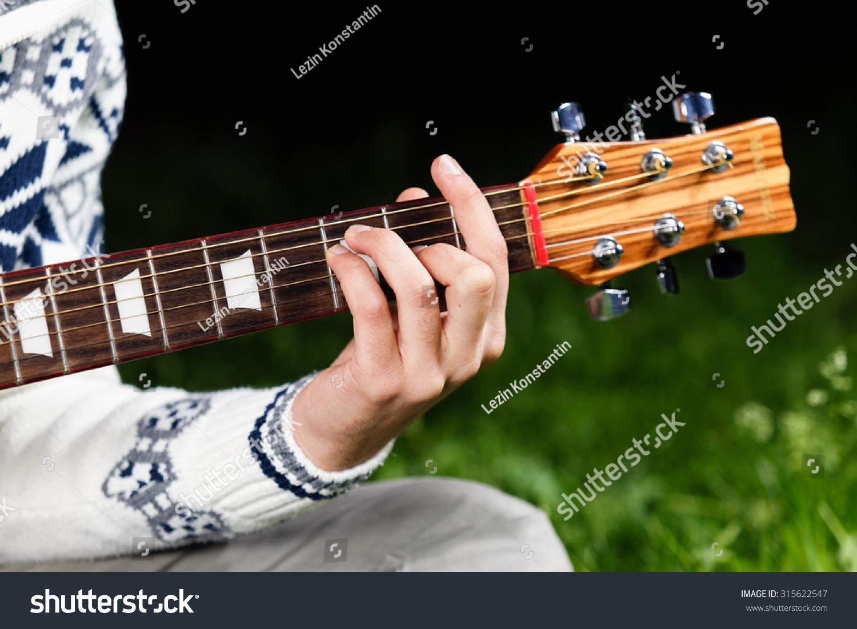 F Major Guitar Chord Stock Photo Royalty Free 315622547 Shutterstock