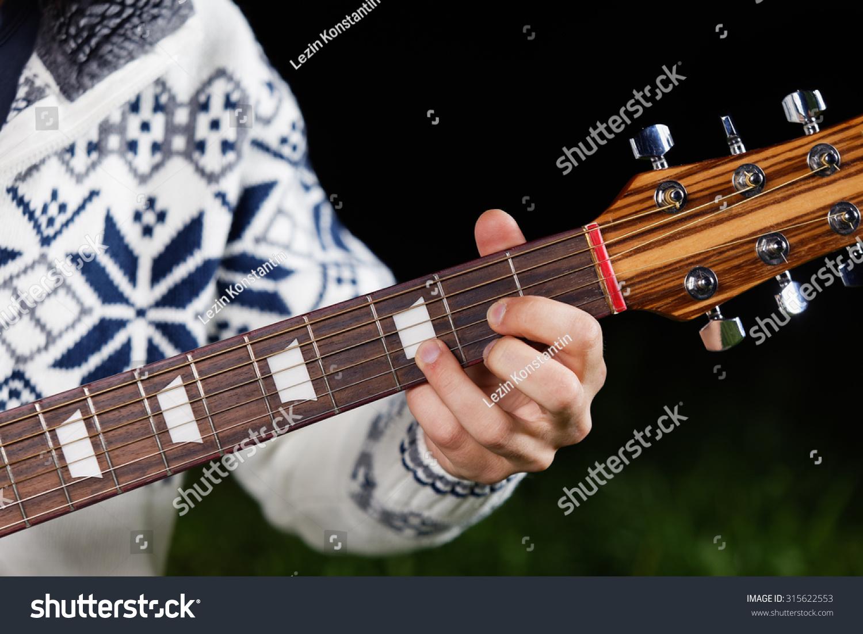 D Major Guitar Chord Stock Photo Edit Now 315622553 Shutterstock