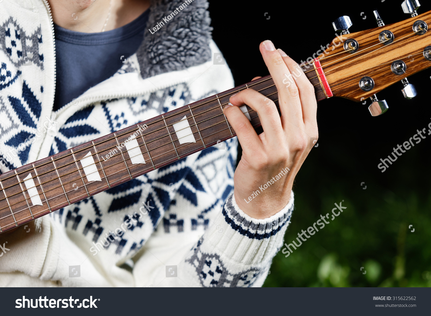Fm Minor Guitar Chord Stock Photo Edit Now 315622562 Shutterstock