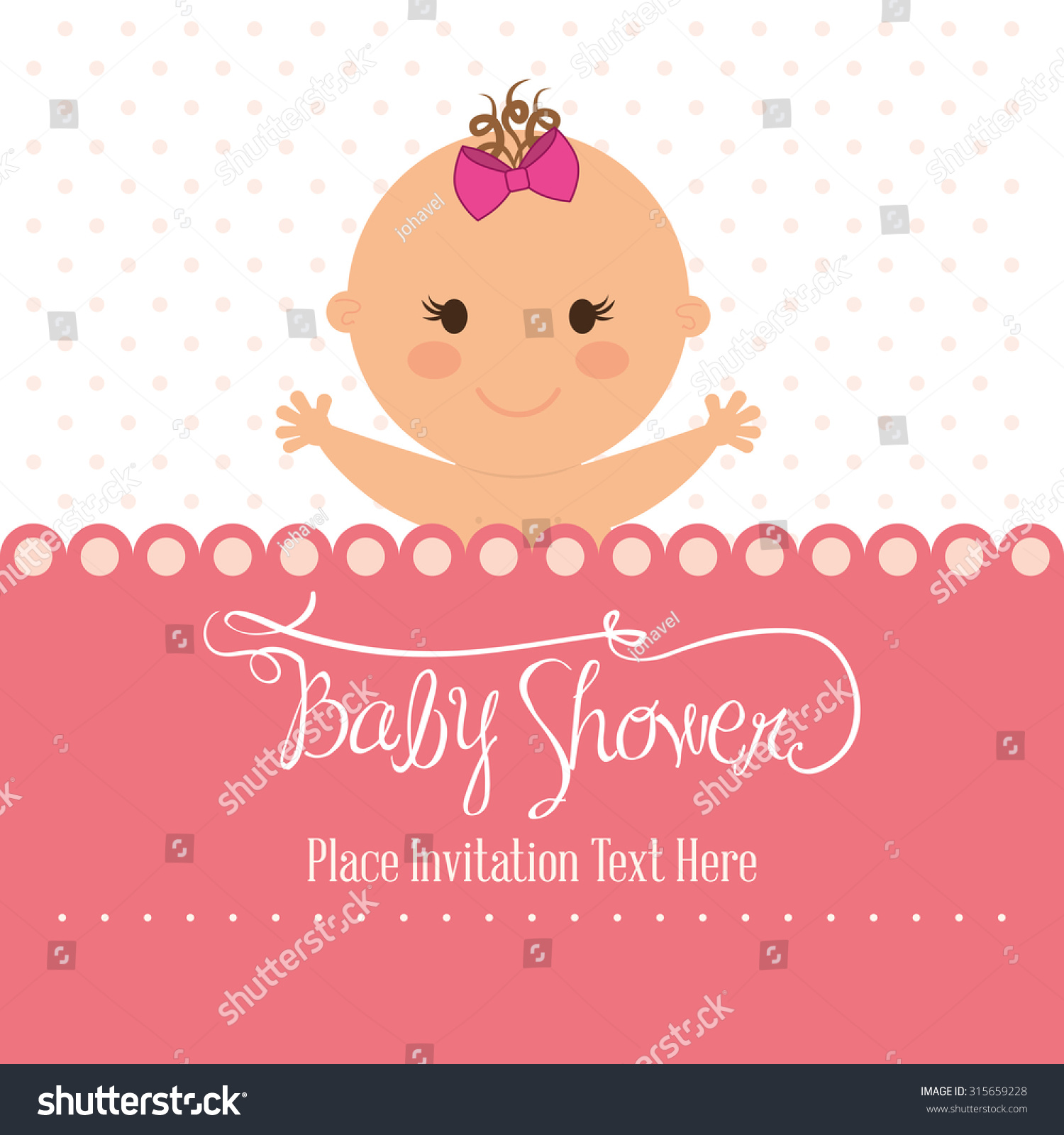 Baby Shower Decorations Vector ~ Baby shower concept decoration icons vector stock