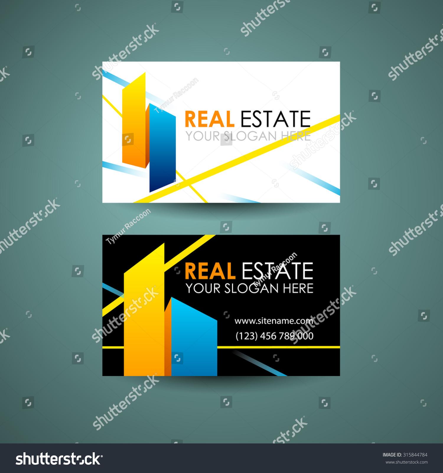 Eco Home Real Estate Logo Template Stock Vector 315844784 ...