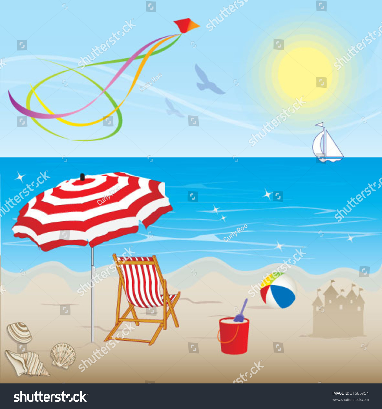 Summer Season Stock Vector Shutterstock