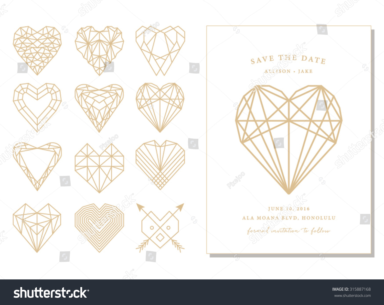 Save date geometric shapes invitation card stock vector 315887168 save date geometric shapes invitation card stock vector 315887168 shutterstock stopboris Choice Image