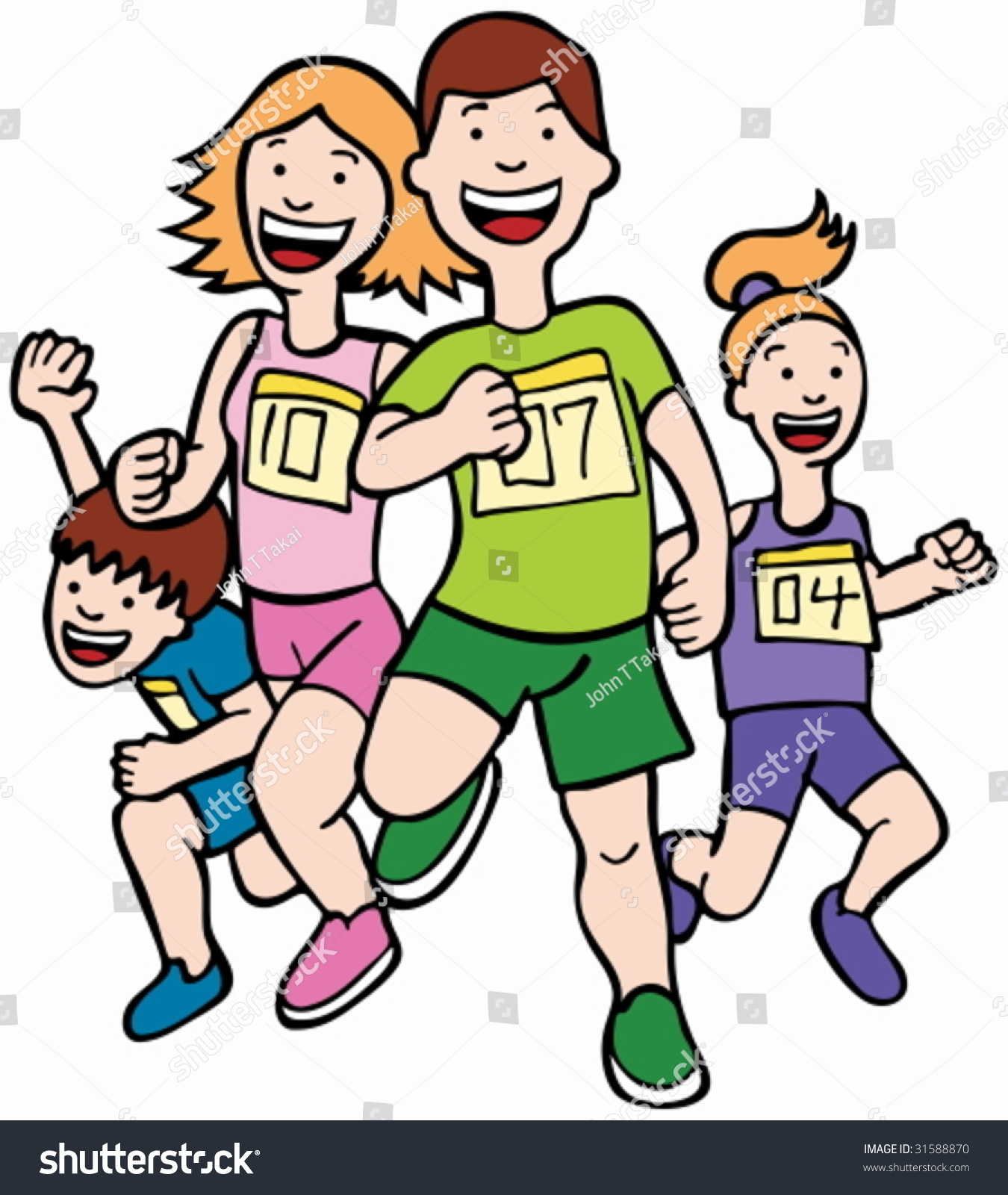Image result for images of a cartoon runner