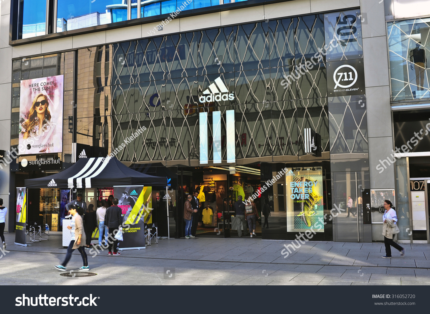 34dad6085a0235 FRANKFURTGERMANYSEPT 11 ADIDAS Store On September 112015 Stock Photo ...